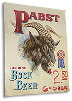 old Pabst sign